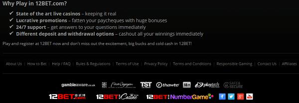 12 Bet Play