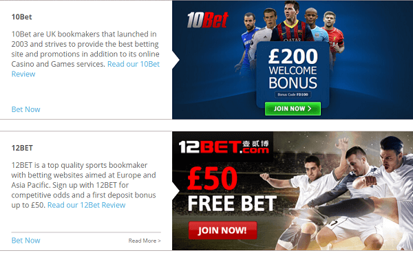 Best Betting Sign Up Offers