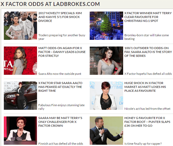 Best Odds X Factor