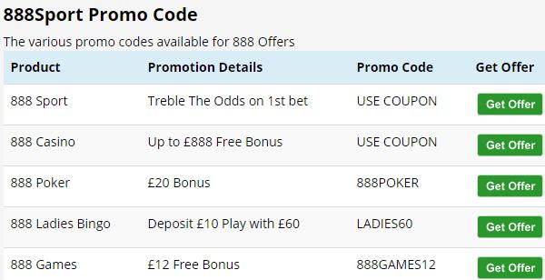 Bet 888 Promo Code