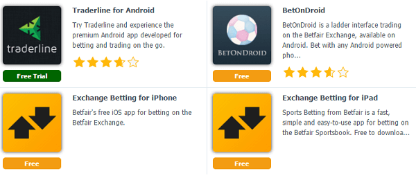 Betfair App Directory
