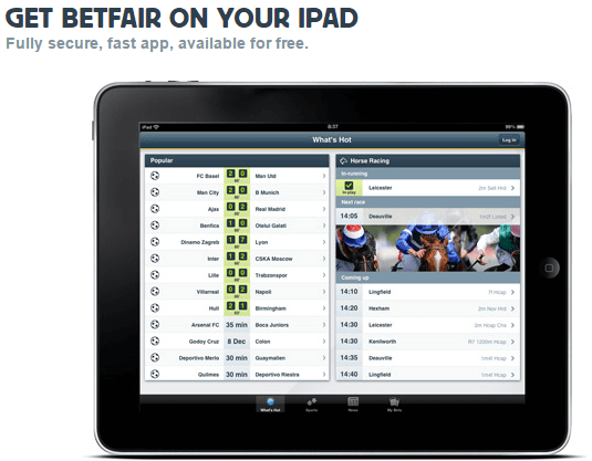 Betfair App Ipad