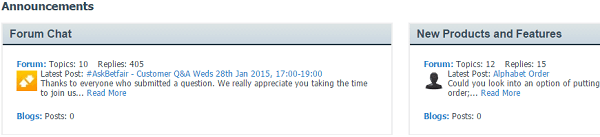 Betfair Forum Chat