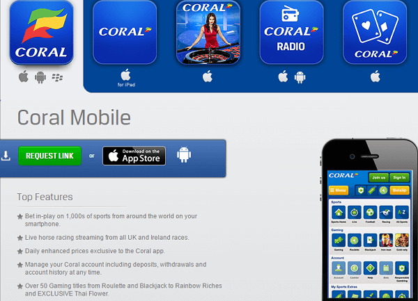 Coral Sports Mobile 1