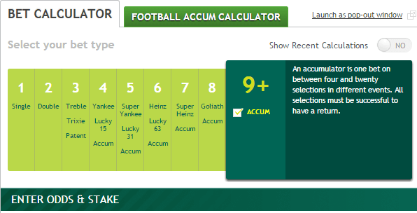Free Bet Calculator Paddy Power