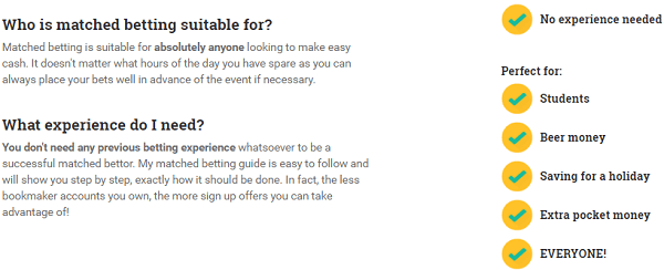 Matched Betting Blog Services