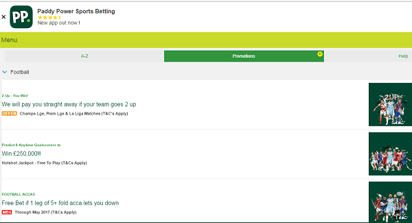 Paddy Power Mobile Sports Betting