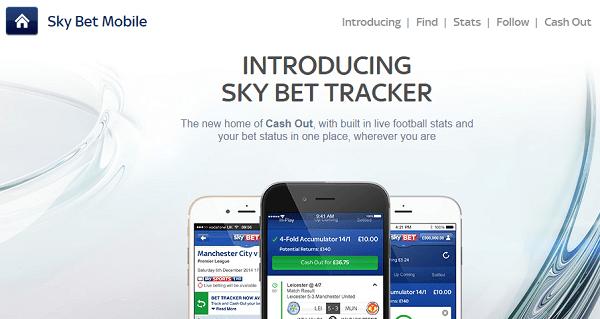 Sky Bet Mobile Website