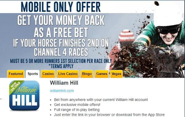 William Hill App Sports