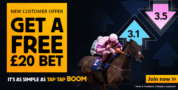 Betfair Exchange 20 Free