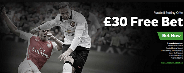 Betway Betting Offer for UK